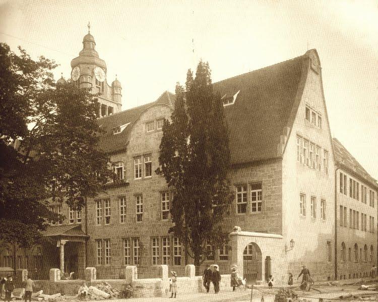 JEZT - Die Jenaer Universität um 1915 - Foto © MediaPool Jena