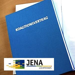 JEZT - Koalitionsvertrag Jena - Symbolbild © MediaPool Jena