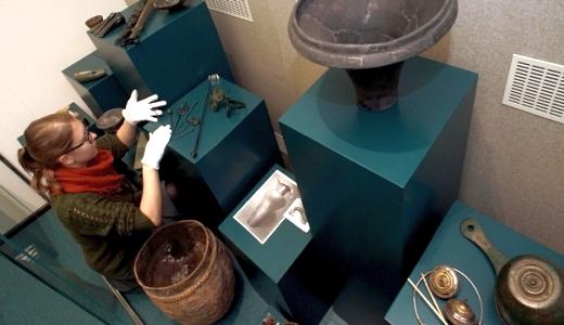 JEZT - Kulturfluss - Die Archaeologie des mittleren Saaletals aus der Sammlung 150 Jahren Ur- und Fruehgeschichte - Foto © FSU Jena JP Kasper