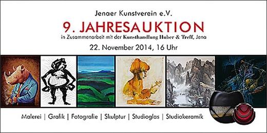 JEZT - Neunte Kunstauktion des Kunstvereins Jena - Abbildung © MediaPool Jena