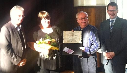 JEZT - Verleihung des Grete Unrein Preises 2014 - Foto 1 © MediaPool Jena