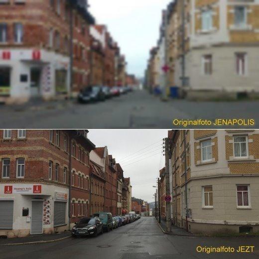 JEZT - Arne Petrich Rechtsstreit - Fotovergleich JENAPOLIS und JEZT
