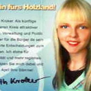 JEZT - Ausschnitt aus dem Flyer von Judith Kroker zur Wahl des Landrats im Saale-Holzland-Kreis - Abbildung © MediaPool Jena