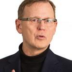 Bodo Ramelow ist Ministerpraesidentenkandidat fuer Thueringen - Plakatfoto © Die Linke