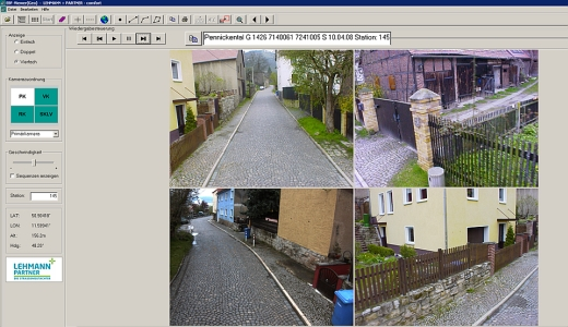 JEZT - Die Befahrung der Strasse Pennickental im Jahre 2009 - Abbildung © Stadt Jena KSJ