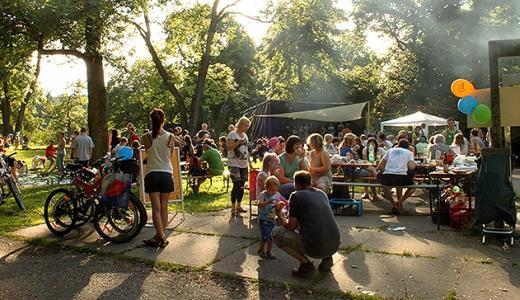 JEZT - Sommerfest im Jugendbildungs- und Begegnungszentrum polaris in Jena-Nord - Foto © AG Jugendarbeit in Kooperation mit dem polaris Jena