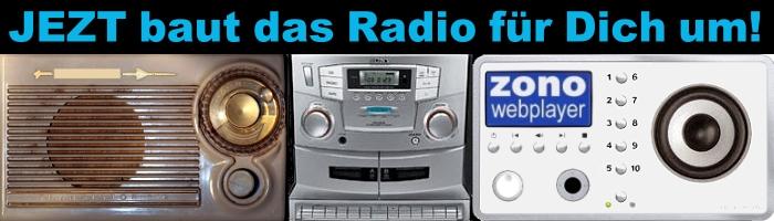 JEZT baut das Radio fuer Dich um LOGO - Grafik © MediaPool Jena