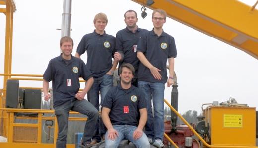 JEZT - Das Team ARCA aus Jena - Foto © EAH