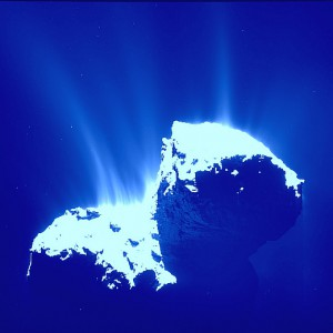 JEZT - Der Komet Tschuri im Januar 2015 - 520x520 Image © ESA - Bildbearbeitung InterJena