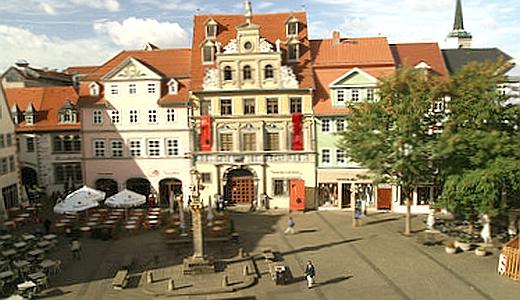 JEZT - Die Kunsthalle Erfurt am Fischmarkt- Foto 03 © Erfurt Tourismus und Marketing GmbH