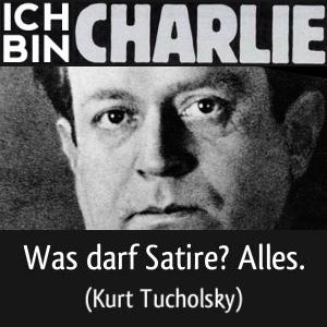 JEZT - Ich bin CHARLIE - Kurt Tucholsky - Abbildung © MediaPool Jena