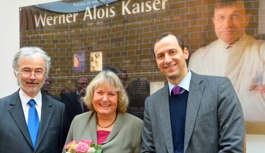 JEZT - Prof Benndord Ursula Kaiser Prof Teichgraeber - Werner Kaiser MRT-Forschungszentrum - Foto © UKJ Szabo