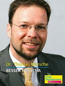 FDP Dr. Thomas Nitzsche - Besser für Jena - Februar 2015