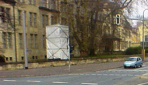 JEZT - Das verdeckte Burschenschaftsdenkmal in Jena - Foto © Stadt Jena