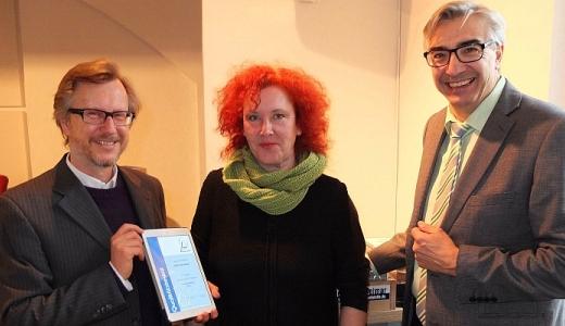 JEZT - Prof Dr Erich Schaefer - Grit Hasselmann - Jochen Fasco - Foto © TLM