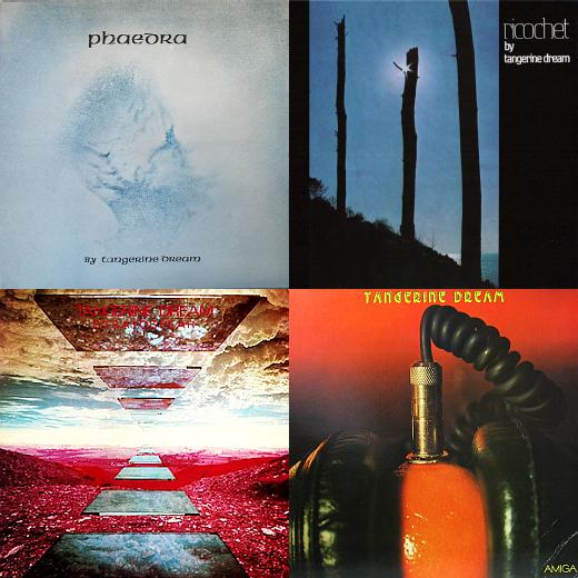 ZONO Radio Jena - Vier Alben von Tangerina Dream