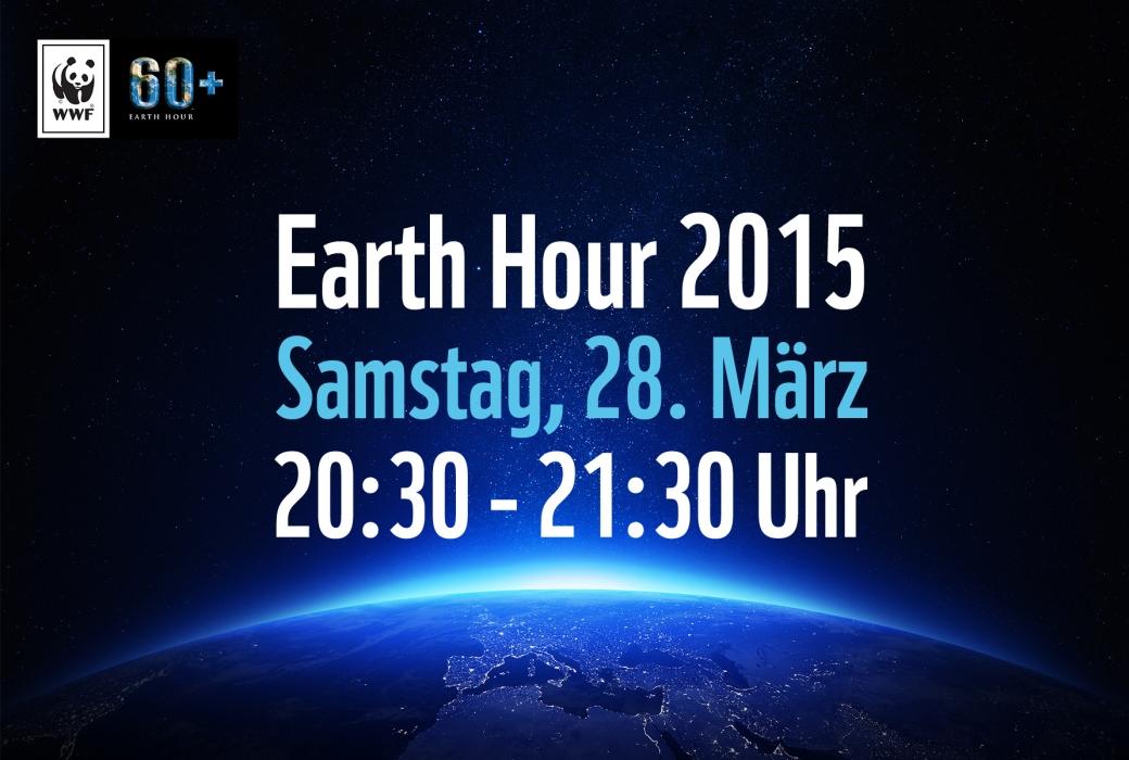 JEZT- WWF Earth Hour 2015 - Symbolgrafik - Abbildung © MediaPool Jena
