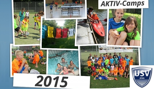 JEZT - Ausschnitt aus dem Flyer der AKTIV-Camps 2015 des USV Jena - Abbildung © MediaPool Jena