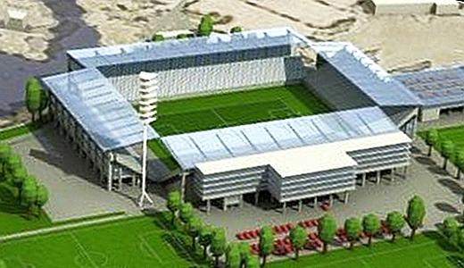 JEZT - Das Ernst-Abbe-Sportfeld nach dem Umbau - Image 1 der Visualisierung von Knick Design GbR © im Auftrag des FCC