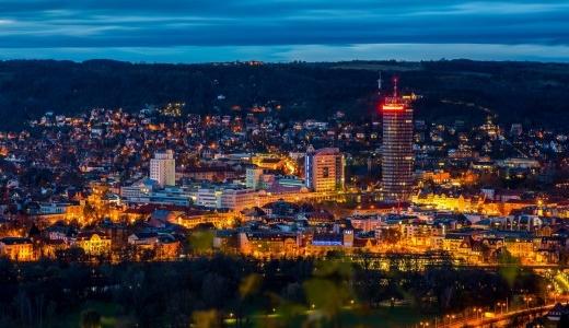 JEZT - Die Lichtstadt Jena am Abend - Foto 2 © JenaKultur Haecker