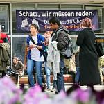 Fast 2100 internationale Studierende haben sich im Sommersemester 2015 an der Universitaet Jena – hier der Campus – eingeschrieben - Symbolfoto © FSU Jena Kasper