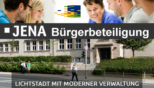JEZT - JENA Buergerbeteiligung - Fotos © Stadt Jena  - Gestaltung © MediaPool Jena