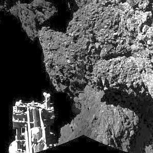 JEZT - Philae Image 09 - Foto © ESA Team Rosetta