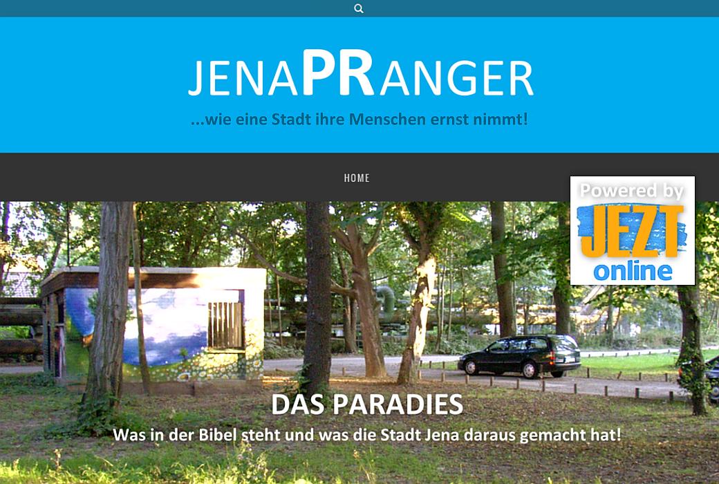 JEZT - jenaPRanger - Symbolbild © MediaPool Jena