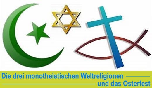 ZONO Radio Jena - Die drei monotheistischen Weltreligionen und das Osterfest