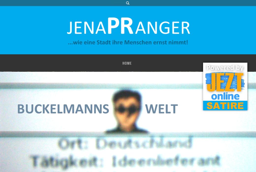 JenaPRanger Symbolbild Buckelmanns Welt JEZT online Satire