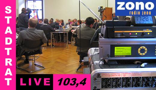 ZONO Radio Jena - Stadtrat Live Logo 2015 - Grafik © MediaPool Jena