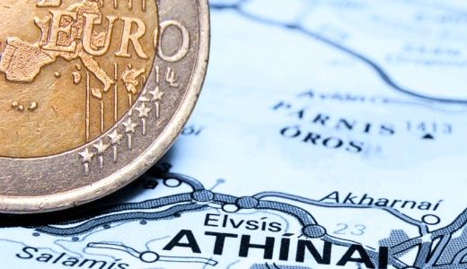 Euromuenze Griechenlandkarte - Foto © FDP