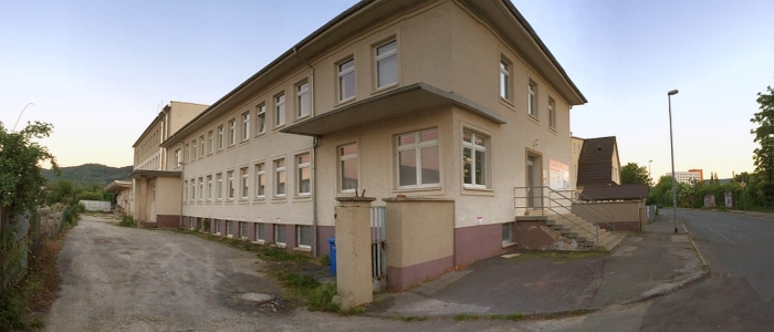 JEZT - Hier koennte in der Loebstedter Strasse 41 eine Fluechtlingsunterkunft entstehen - Foto © MediaPool Jena