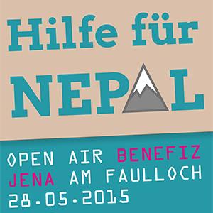 JEZT - Hilfe fuer Nepal Benefizkonzert - Logo  - Symbolbild © MediaPool Jena