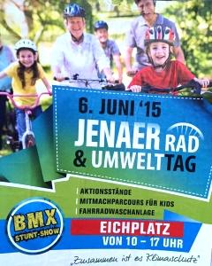 JEZT - Plakat zum Jenaer Umwelttag 2015 - Foto © MediaPool Jena