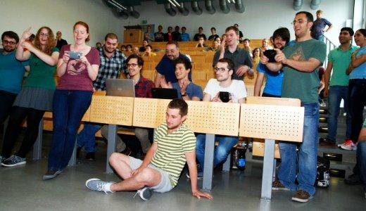 Die neunte Auflage des Roboterwettbewerbs an der EAH Jena - Foto © EAH Herzer