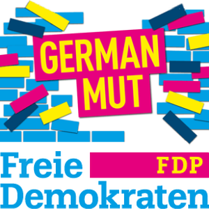 Freie Demokraten GERMAN MUT Logo