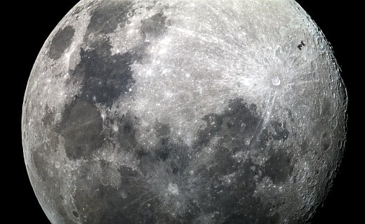 JEZT - ISS MoonTransit 2015-06-30 - Foto © Dylan O'Donnell