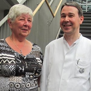 JEZT - Kerstin Lumpe und PD Dr Hermann Kissler - Foto © UKJ Emmerich