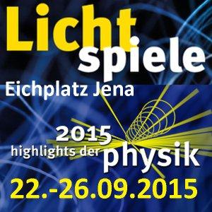 JEZT - LichtSpiele - Highlights der Physik Jena 2015 - Symbolbild © MediaPool Jena