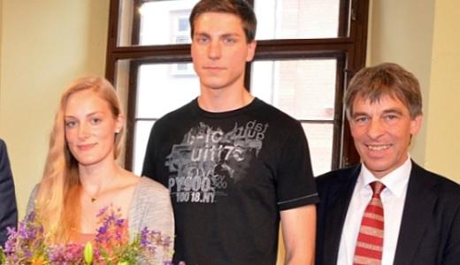 JEZT - Preis für Zivilcourage Jena - Preistraeger 2015 - Foto © Stadt Jena Glasser