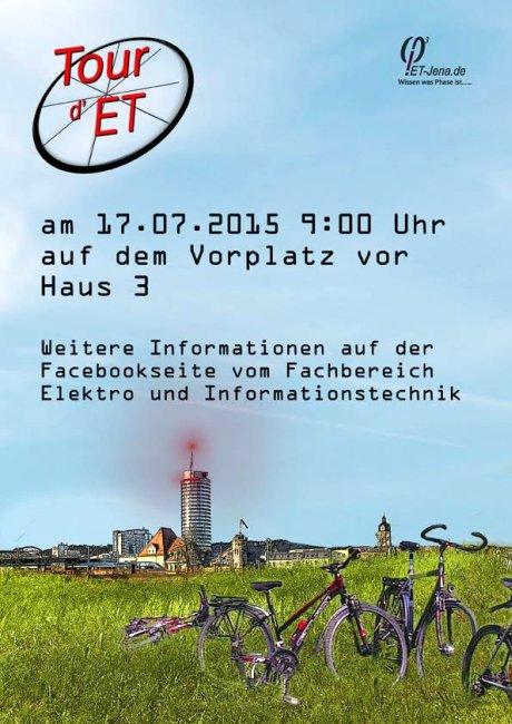 JEZT - Tour deET Plakat- Abbildung © MediaPool Jena