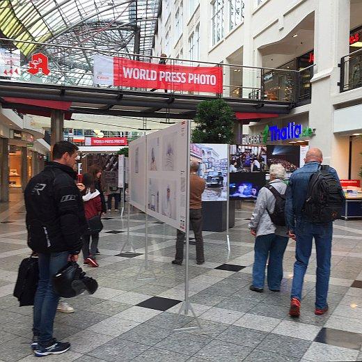 JEZT - World Press Award Foto-Ausstellung in der Goethe-Galerie - Symbolbild © MediaPool Jena