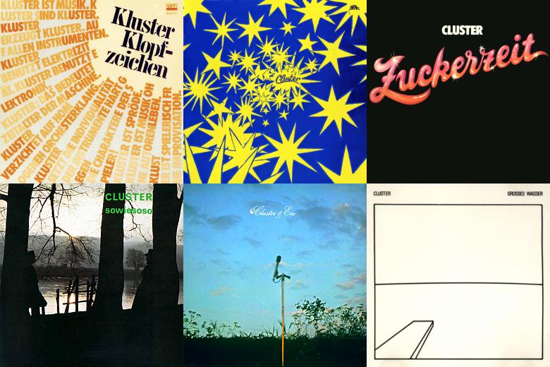 ZONO Radio Jena - Verschiedene Alben von Cluster