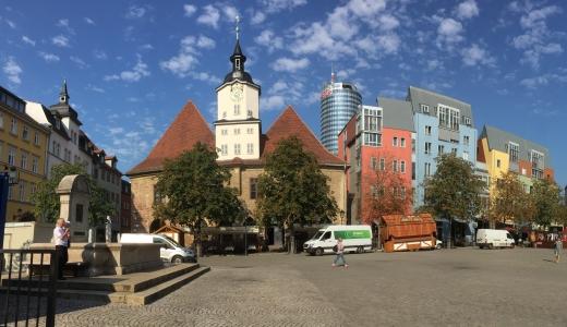 JEZT - Der historische Marktplatz - Foto © MediaPool Jena