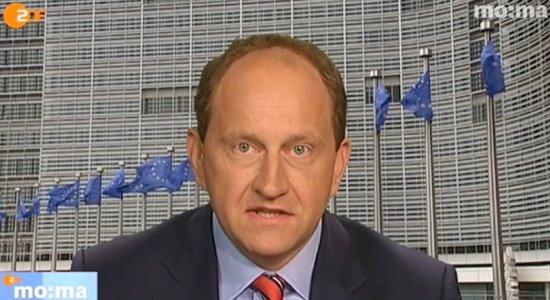 JEZT - Alexander Graf Lambsdorff im ZDF MoMa - Foto © ZDF