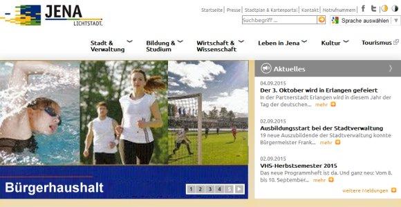 JEZT - Buergerhaushalt auf der Webseite der Stadt Jena - Symbolbild © MediaPool Jena