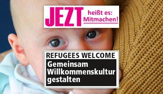 JEZT - Gemeinsam Willkommenskultur gestalten in Jena - Foto © Buergerstiftung Jena