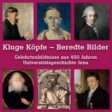 JEZT - Kluge Koepfe - Beredte Bilder - Abbildung © MediaPoolJena