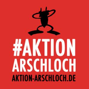 JEZT - Logo der Aktion Arschloch - Abbildung © Die Ärzte